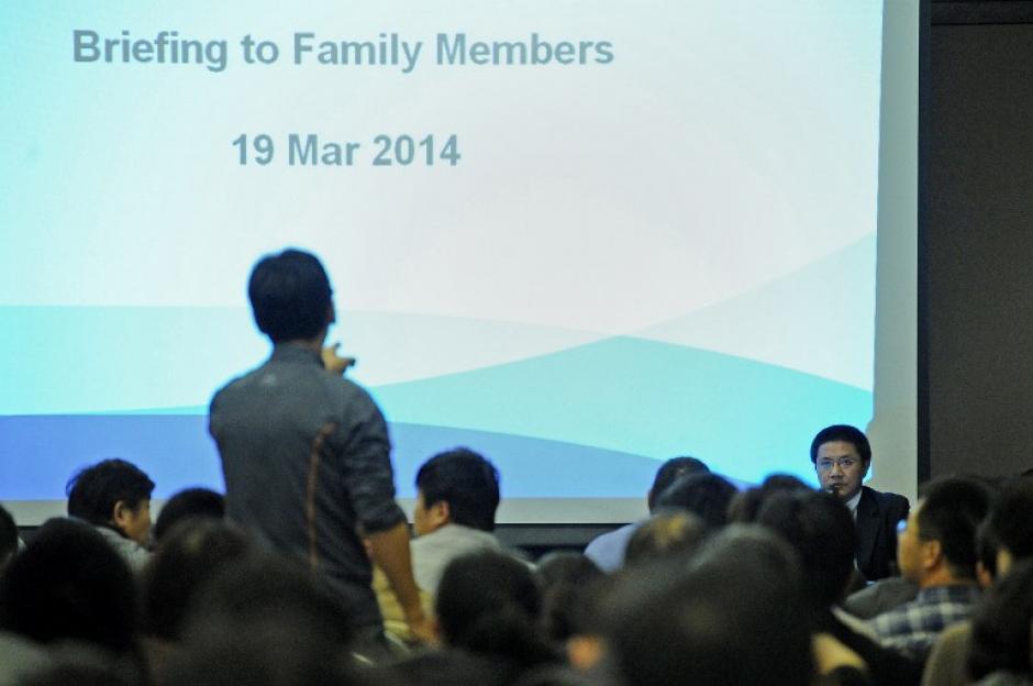 Un portavoz de parte del grupo de familiares se hará cargo de ahora en adelante de todas las declaraciones. (Foto: AFP)