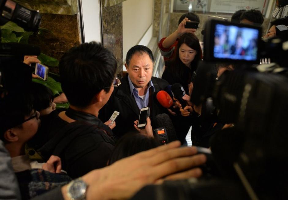 Las autoridades de Malasia dan declaraciones sobre el hallazgo hecho por los satélites australianos. (Foto: AFP)