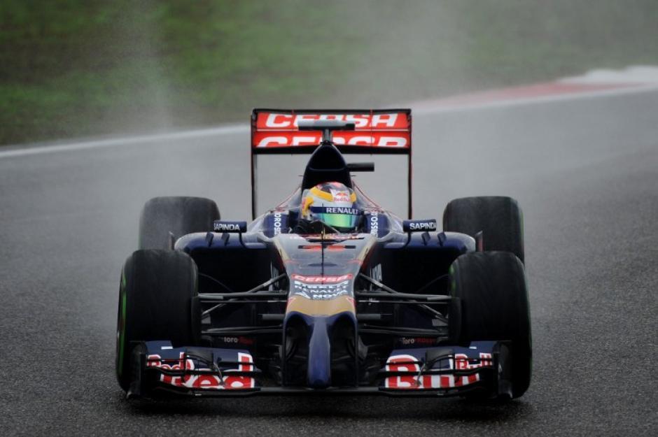 Jean-Eric Vergne de laScuderia Toro Rosso saldrá en la posición 9. (Foto: AFP)