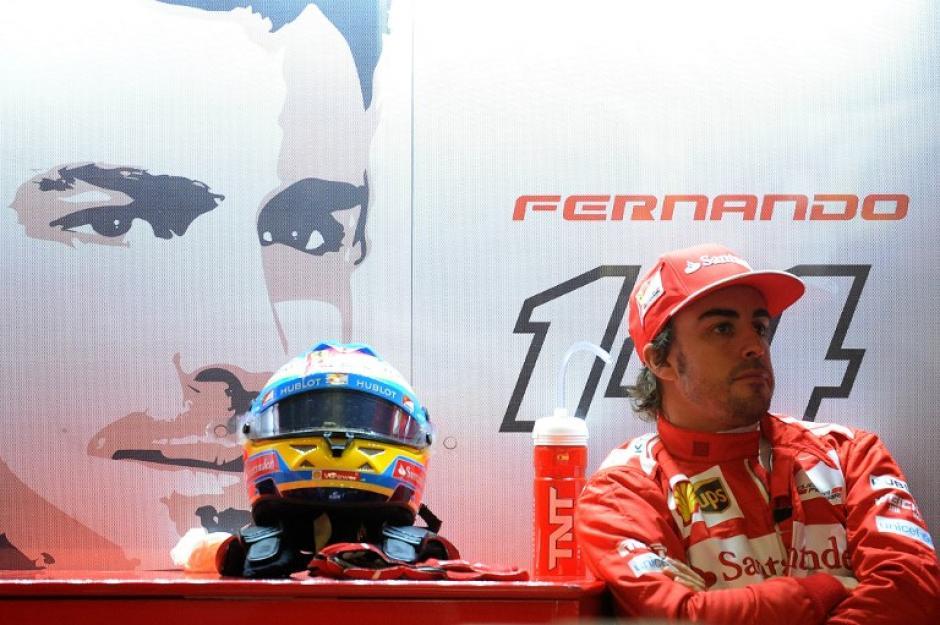 Fernando Alonso saldrá en quinta posición en la parrilla de salida del Gran Premio de China. (Foto: AFP)