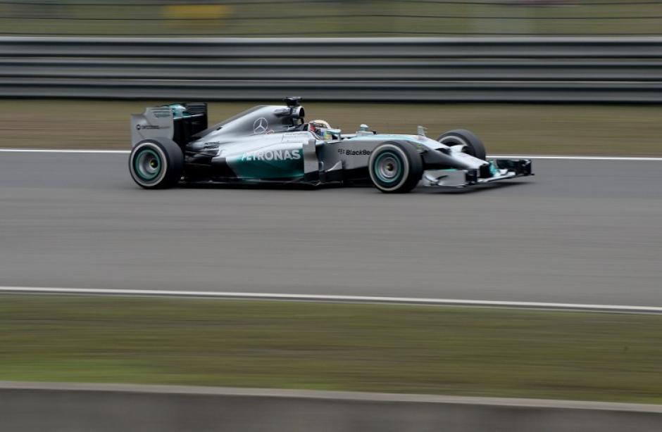 El británico Lewis Hamilton ganó su tercera fecha en el Campeonato Mundial de Fórmula 1. (Foto: AFP)
