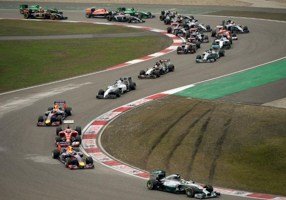 China quedó atrás y la próxima fecha del Campeonato de la F1 será en España. (Foto: AFP)