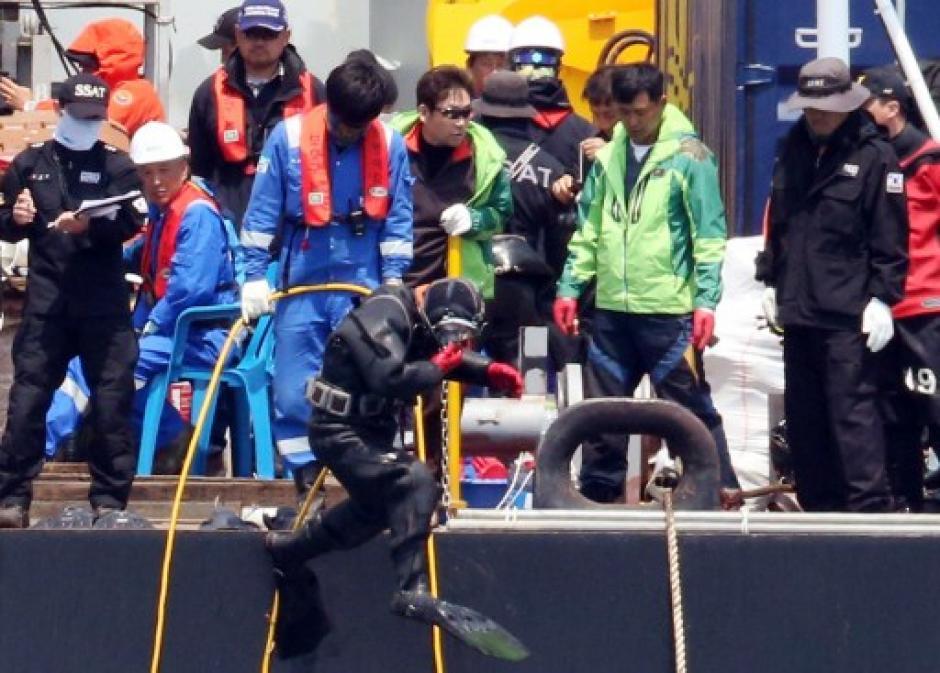 El ferry se hundió el pasado 16 de abril en las costas de Corea del Sur, once tripulantes son acusados de homicidio. (Foto: AFP)