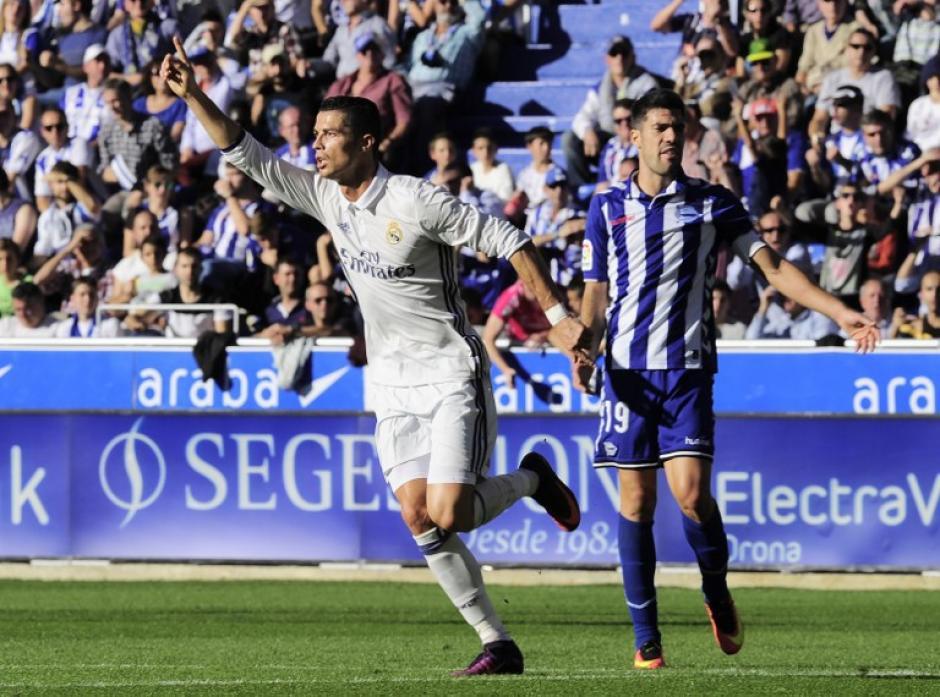 El portugués metió tres goles y falló un penal. (Foto: AFP)