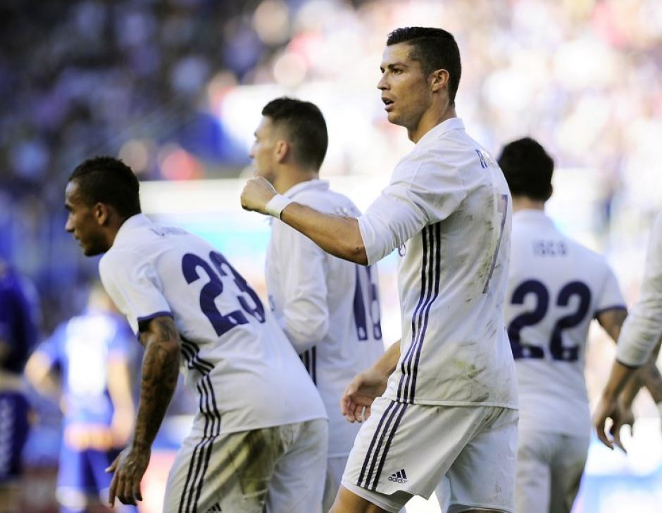 CR7 solo llevaba dos goles en esta liga. (Foto: AFP)