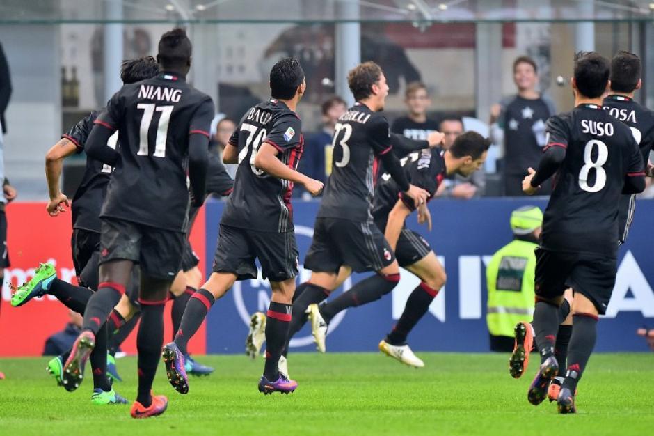 Bonaventura celebra su golazo contra el Pescara. (Foto: AFP)