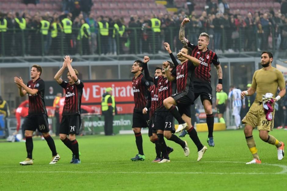 El Milán está en puestos de Champions. (Foto: AFP)