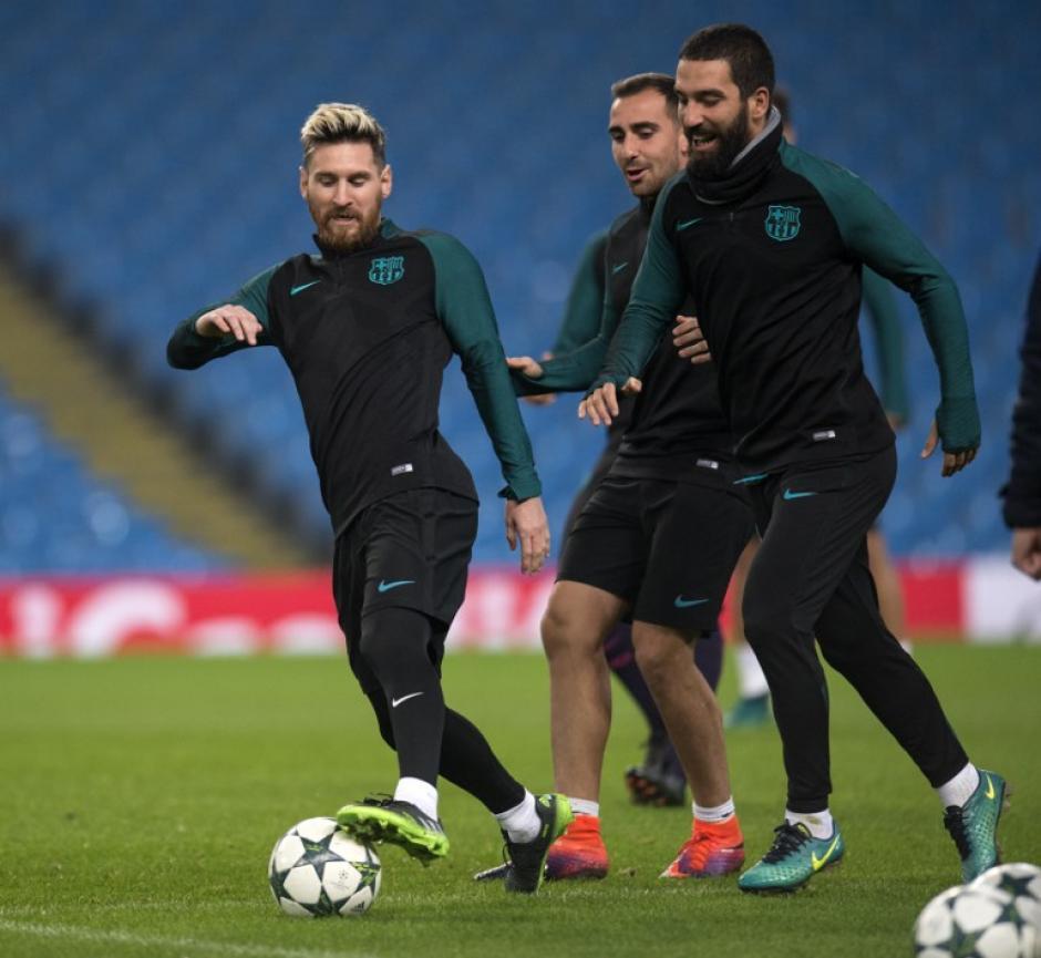 Arda Turan también volvió al equipo después de una lesión. (Foto: AFP)
