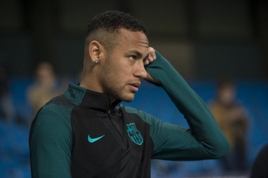 Neymar vuelve a estar en problemas con la justicia. (Foto: AFP)