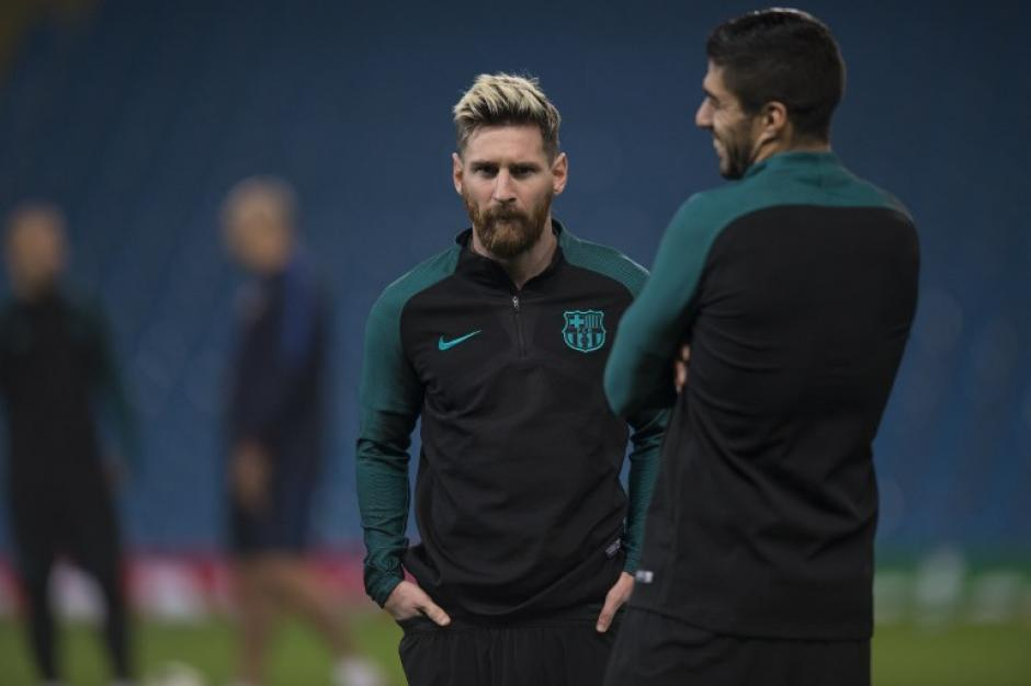 Leo Messi será el capitán ante la ausencia de Iniesta. (Foto: AFP)