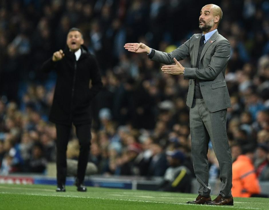 Guardiola superó a Luis Enrique. (Foto: AFP)