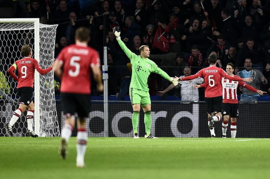 Manuel Neuer tenía razón en reclamar. (Foto: AFP)