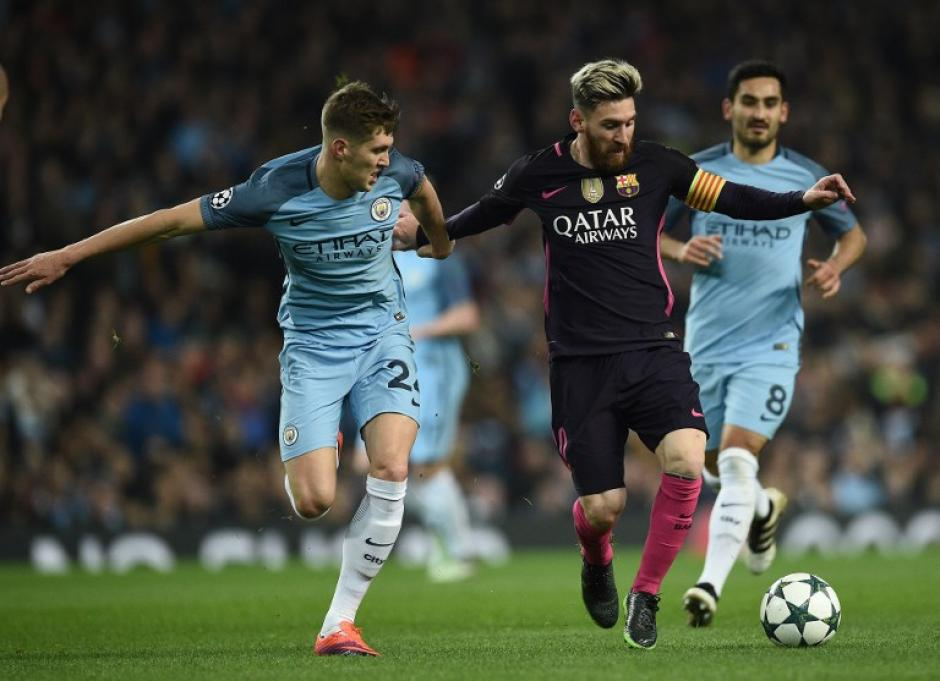 Messi desapareció en el segundo tiempo por culpa de Pep. (Foto: AFP)