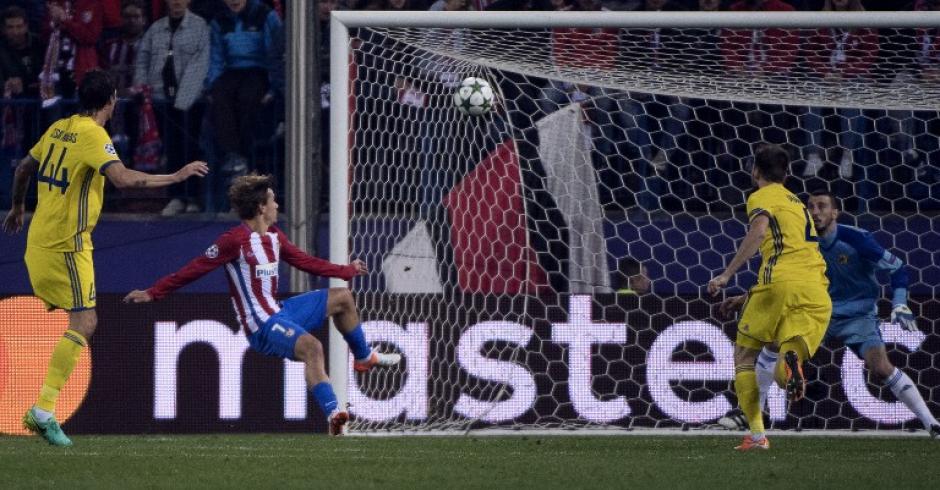 Seguramente será uno de los mejores goles de la Champions. (Foto: AFP)