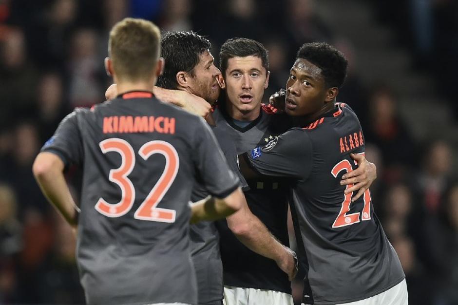 El Bayern también va segundo, así que no se enfrentarían. (Foto: AFP)