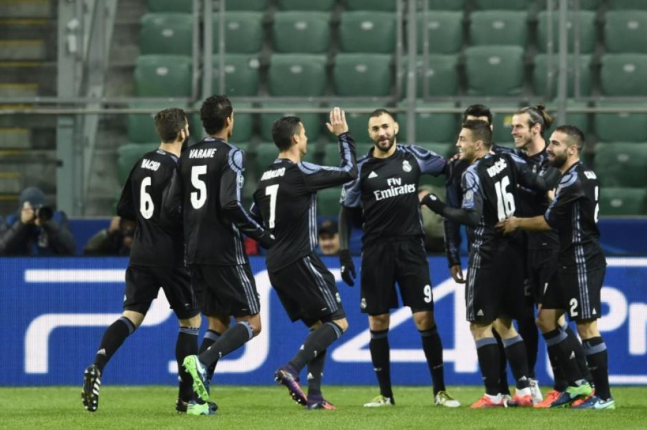Ni un minuto aguantó el Legia. (Foto: AFP)