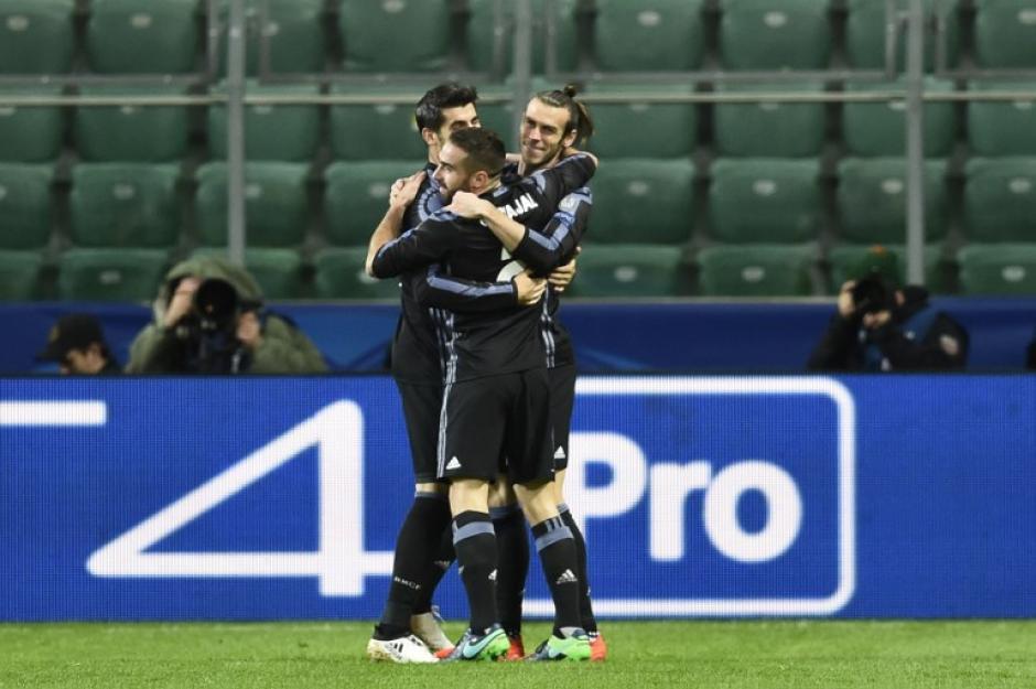 Gareth Bale marcó el gol más rápido del Madrid en la historia de la UCL. (Foto: AFP)