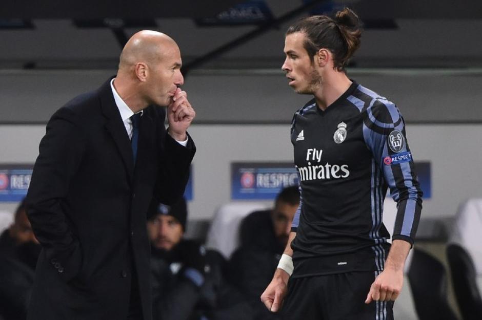 """""""¿Y si mejor quedamos en segundo, Gareth?"""" (Foto: AFP)"""