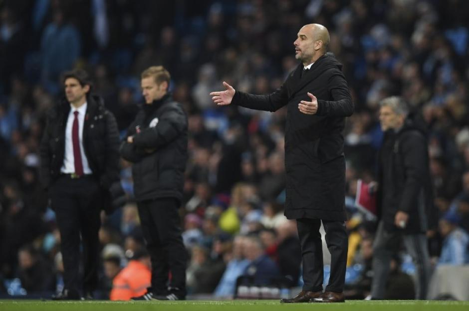 Guardiola impuso sus reglas en el Manchester City. (Foto: AFP)