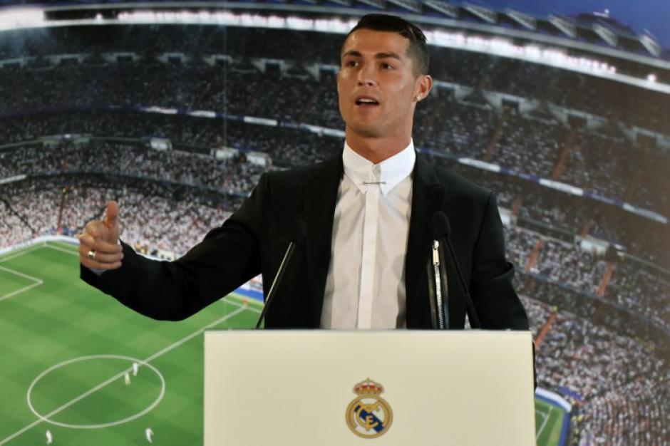 """CR7 agradeció al """"club de su corazón"""" por confiar en él. (Foto: AFP)"""