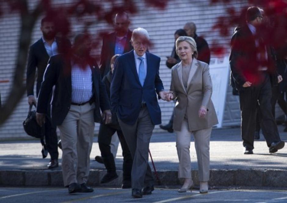 Se mostró muy segura de ganar las elecciones. (Foto: AFP)