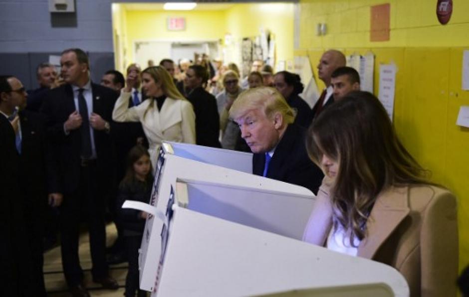 Las elecciones en Estados Unidos concluyeron e iniciará el conteo de los votos. (Foto: AFP)