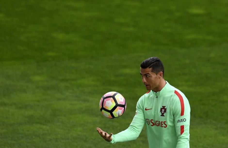 Cristiano está actualmente con su selección. (Foto: AFP)