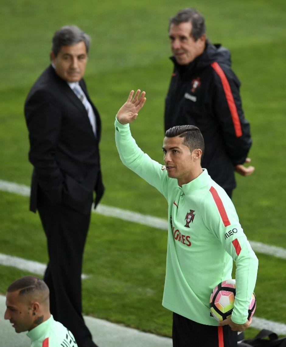 El portugués jugará el domingo contra Letonia. (Foto: AFP)