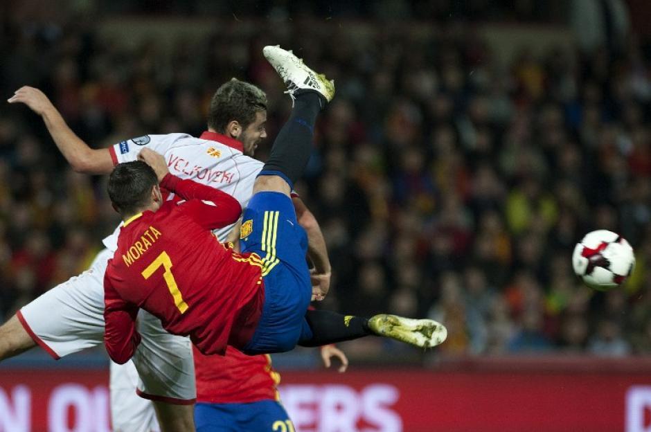El delantero del Real Madrid se perderá el derbi contra el Atlético de Madrid y el clásico. (Foto: AFP)