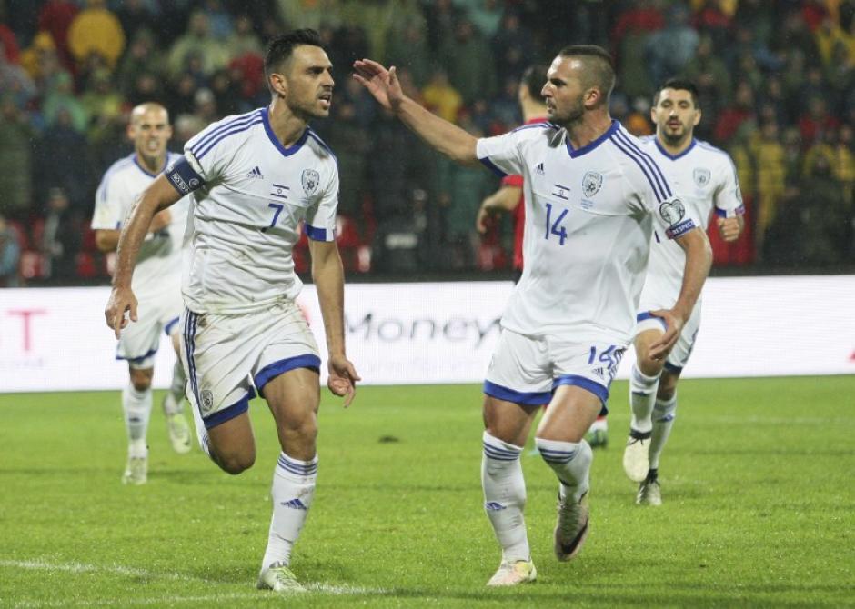 Israel venció 3-0 con dos hombres más. (Foto: AFP)