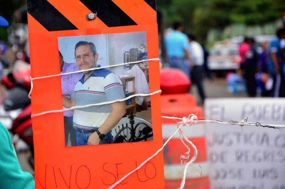 El padre José Luis Sánchez Ruiz apareció con vida tras dos días de haber sido raptado. (Foto: AFP)