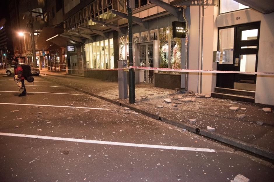 La situación se tornó caótica en las primeras horas. (Foto: AFP)