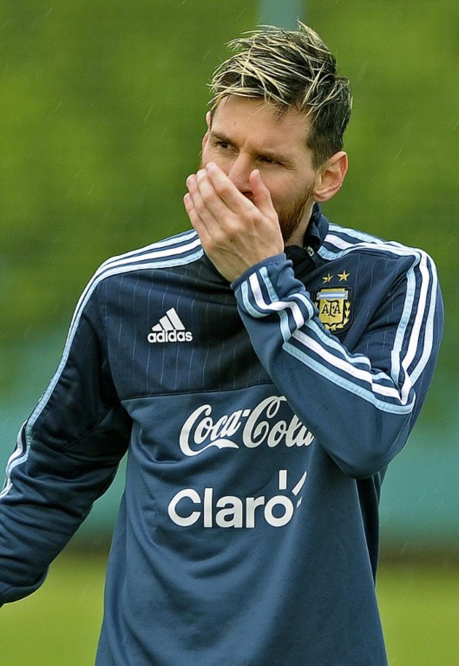 Leo está actualmente con su selección. (Foto: AFP)