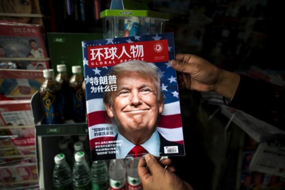 El mandatario electo informó sobre su plan de los 100 días. (Foto AFP)