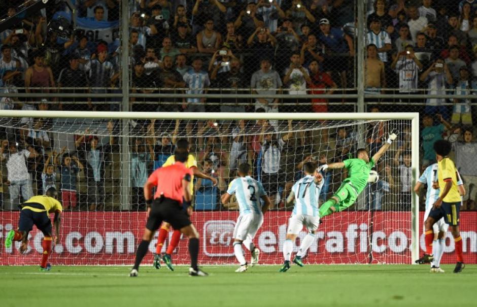 Messi la puso en el ángulo donde nadie llega. (Foto: AFP)