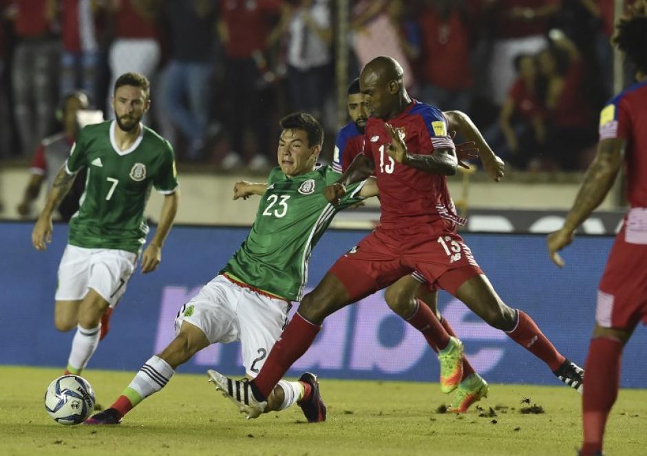 México no la pasó bien en territorio panameño. (Foto: AFP)