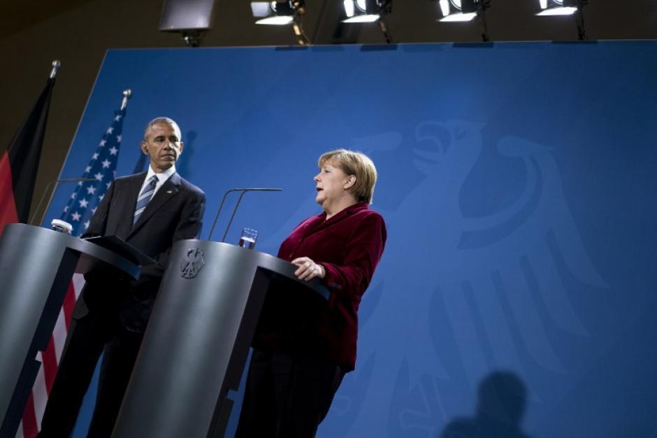 El presidente Obama se encuentra de gira en Europa.  (Foto: AFP)