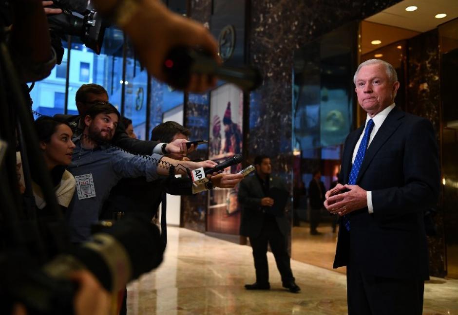 Sessions será el nuevo Fiscal General. (Foto: AFP)