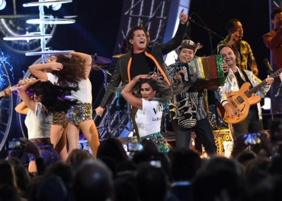 """""""La Bicicleta"""", la canción con la que Carlos Vives triunfó en los Latin Grammy.  (Foto: AFP)"""