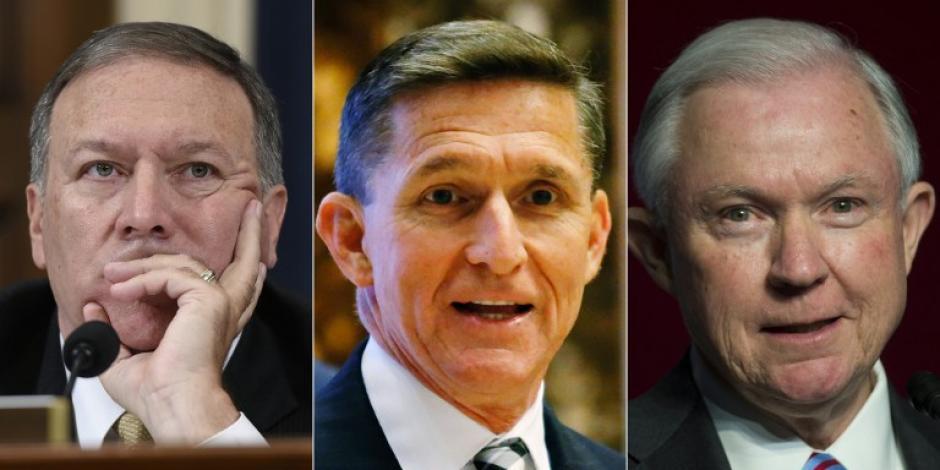 Los tres nombramientos vienen a reforzar los discursos de campaña de Trump. (Foto: AFP)