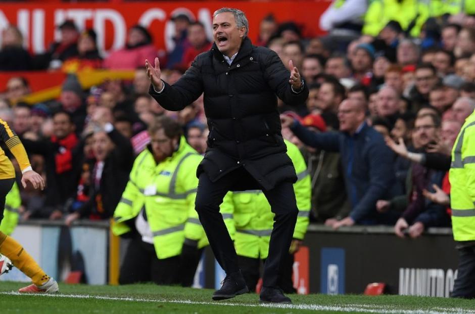 José Mourinho, el incomprendido. (Foto: AFP)