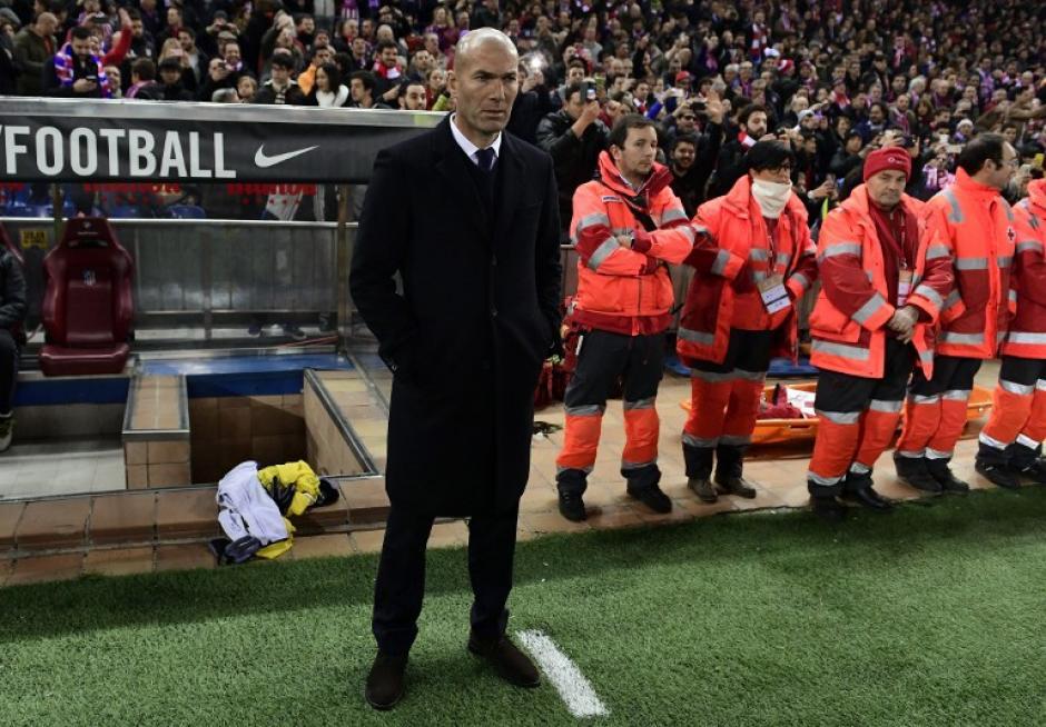 Zinedine Zidane le ganó el pulso al Cholo Simeone. (Foto: GERARD JULIEN/AFP)