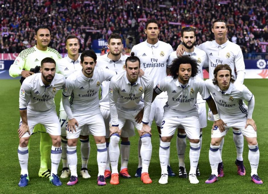Este fue el equipo que ganó en el Vicente Calderón. (Foto: AFP)