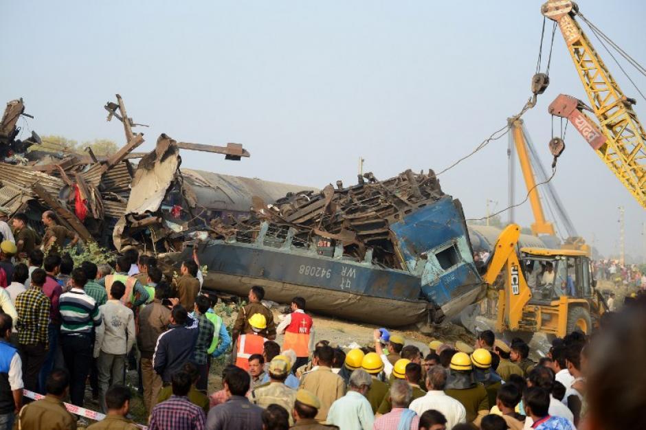 Es el peor accidente registrado desde 2010. (Foto: AFP)