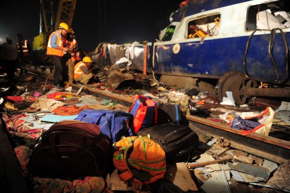 El accidente se dio durante la madrugada. (Foto: AFP)