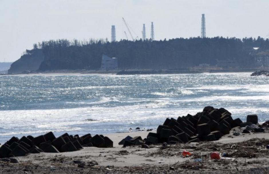 Fuertes olas de hasta dos metros se generaron luego del movimiento. (Foto: AFP)