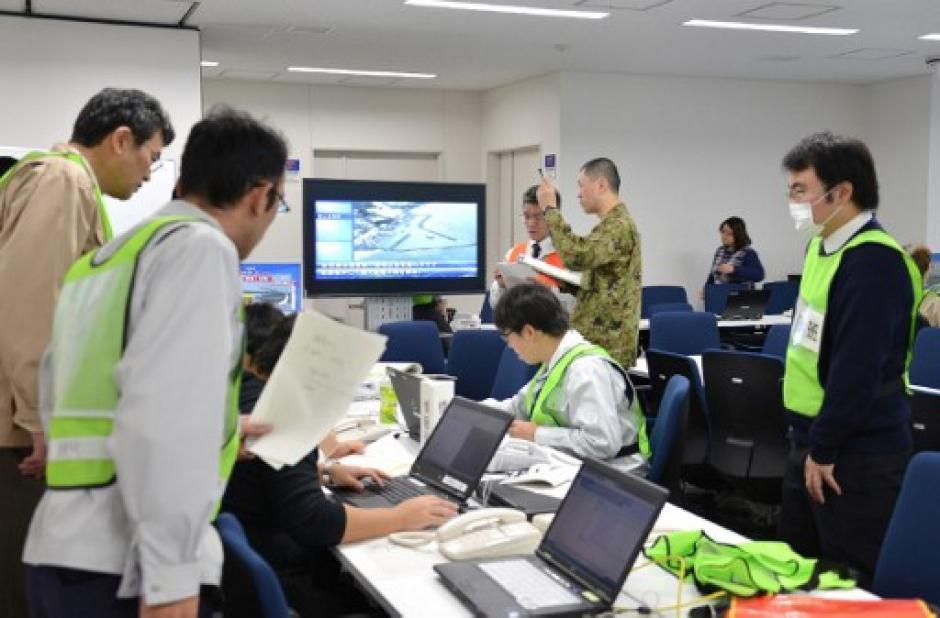 El sistema de emergencia se mantuvo durante varias horas. (Foto: AFP)