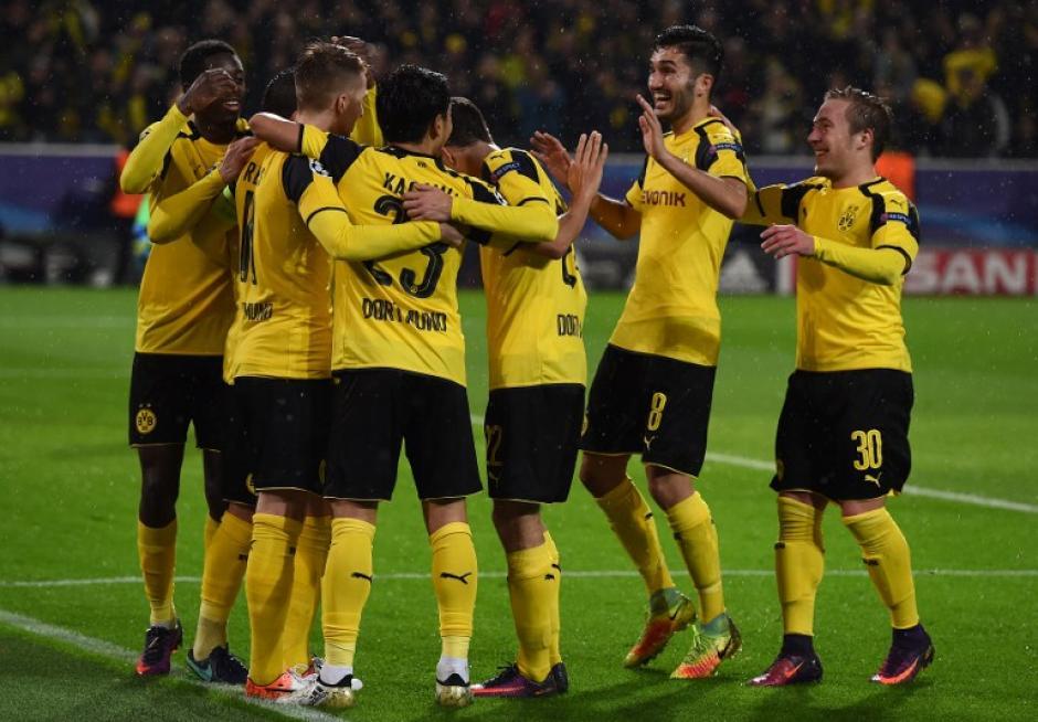 El Borussia Dortmund goleó (y eso sí es goleada) al Legia. (Foto: AFP)