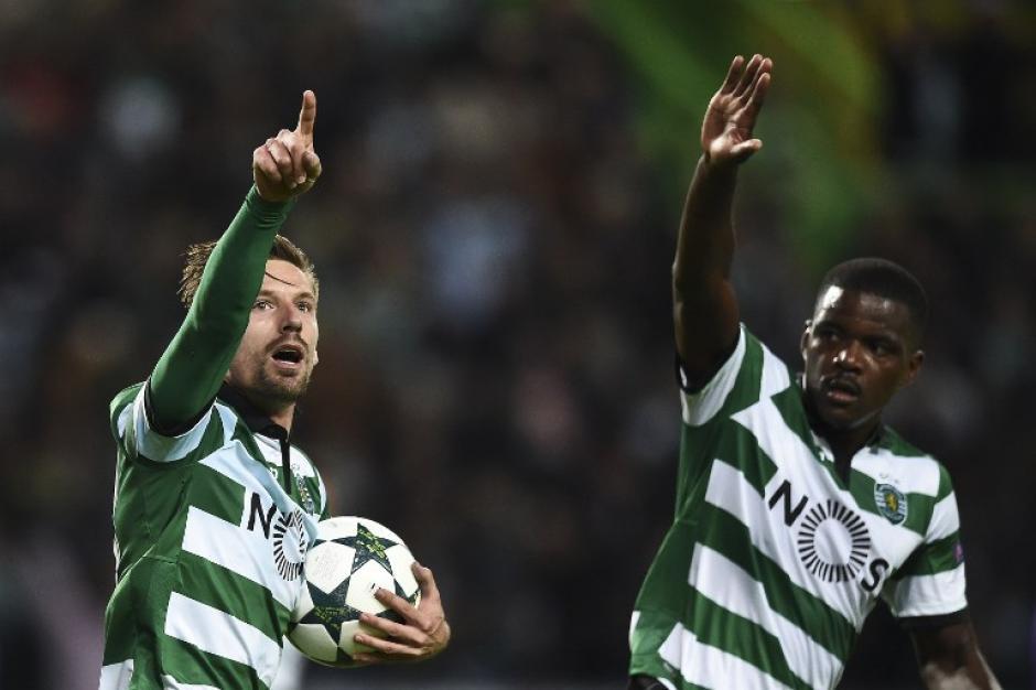 El Sporting volvió a ser un duro rival. (Foto: AFP)