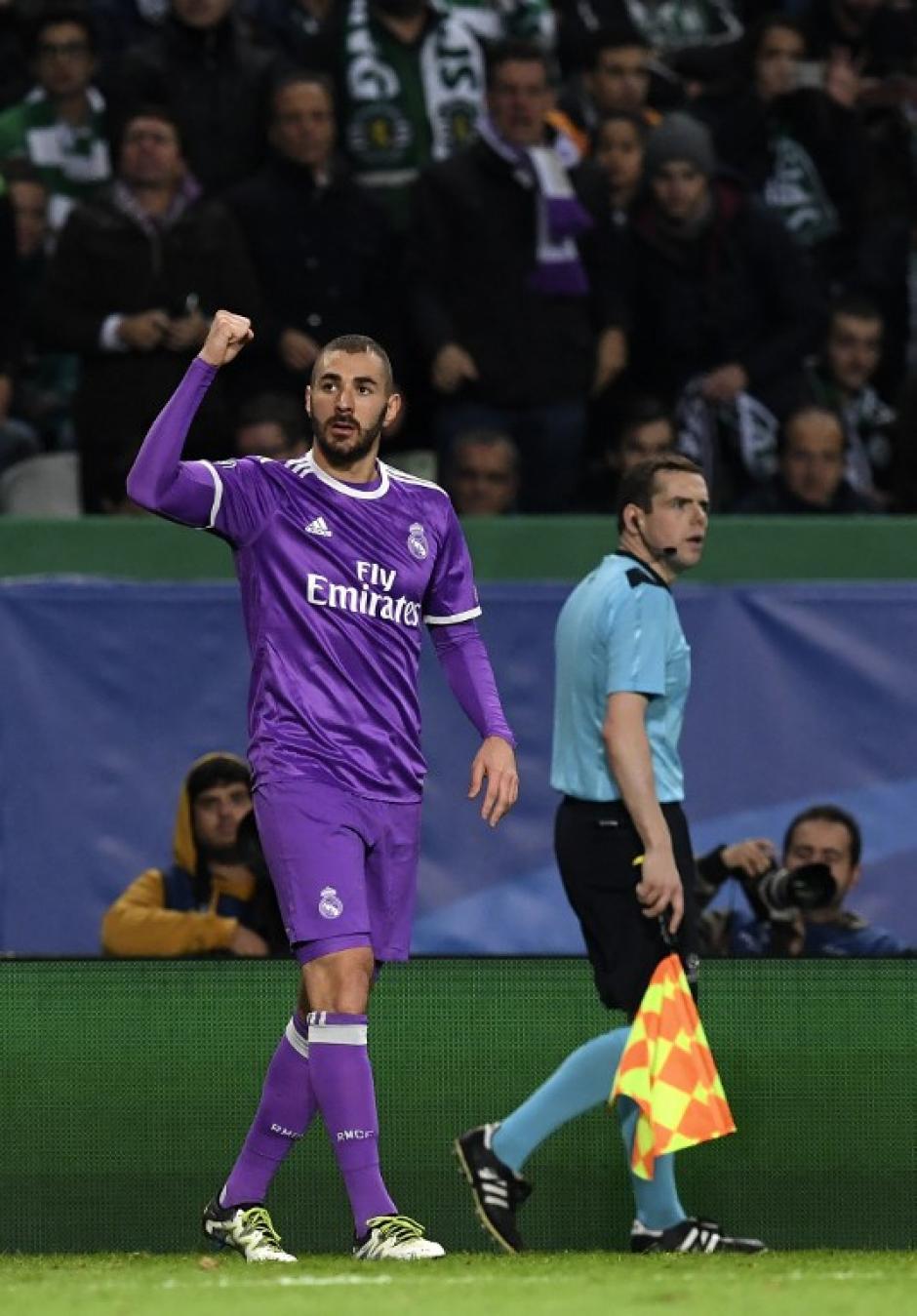 Benzema hizo lo que Cristiano Ronaldo no pudo. (Foto: AFP)